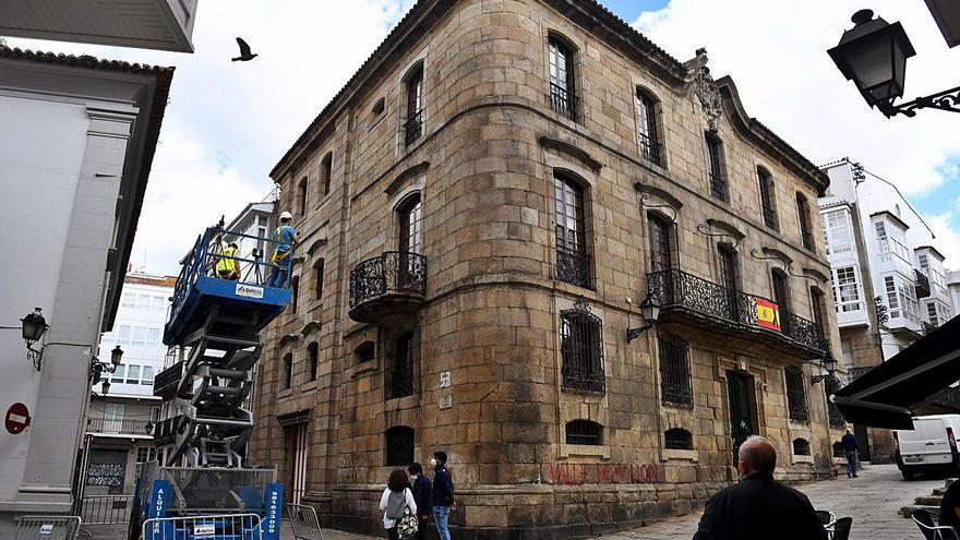 El informe jurídico encargado por el Concello avala la reclamación de la casa Cornide en los tribunales