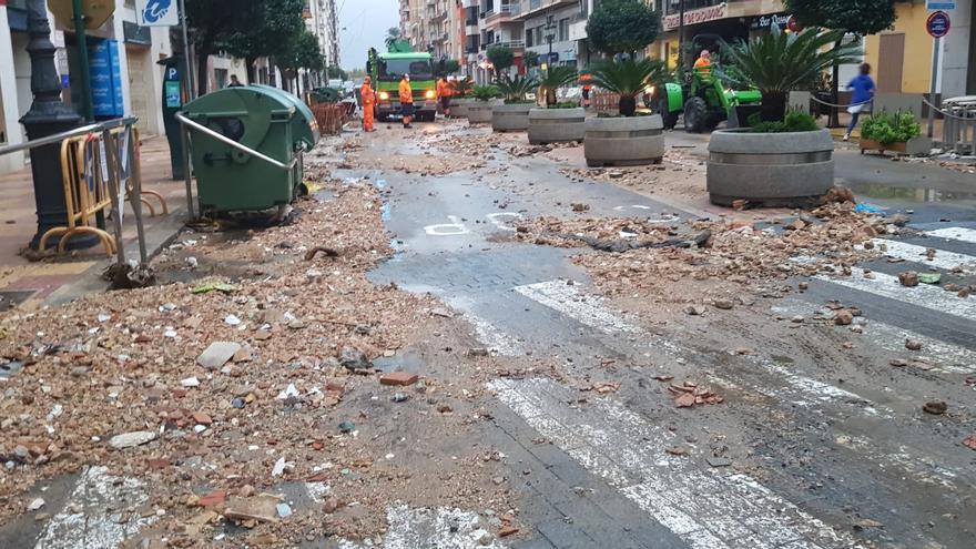 Tormentas en Valencia | Las lluvias torrenciales descargan con fuerza en la Comunitat Valenciana