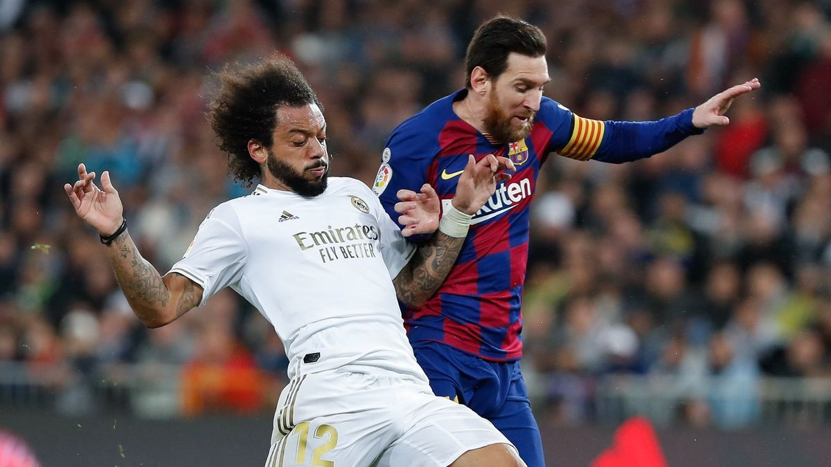 Messi and Marcelo, in a & # 039; Classic & # 039;  previous