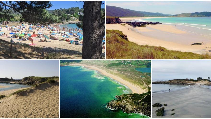 El mapa que te hará descubrir las mejores playas de Galicia