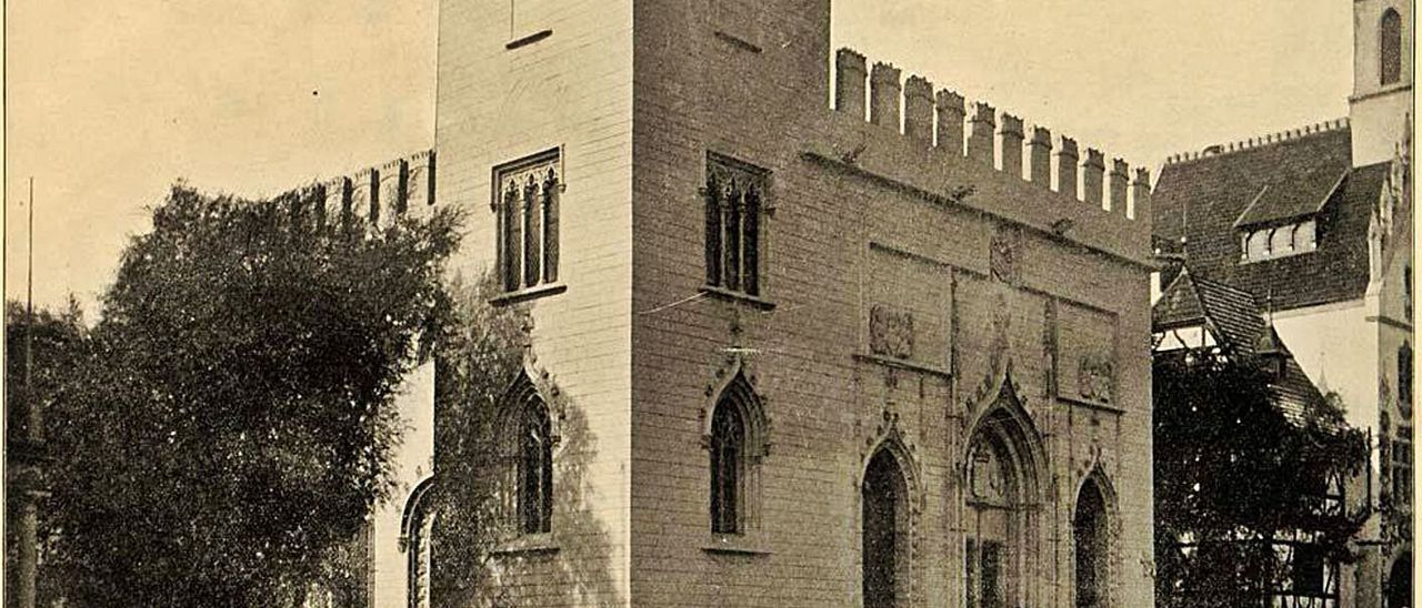 La Lonja, edificio de España en la Exposición de Chicago de 1893. | DEL LIBRO DE HUBERT H. BANCROFT