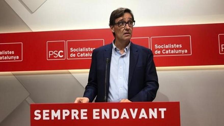 El PSC sobre la ruptura de Cs amb Valls: «Els pactes amb Vox comencen a passar factura»