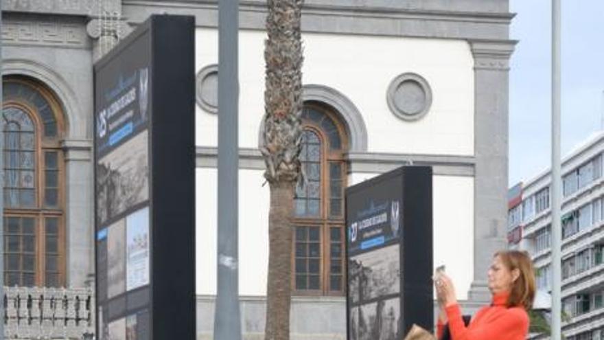 Presentación de la exposición 'La ciudad de Galdós'