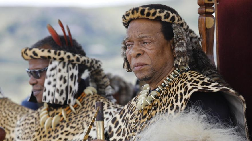 Mor a Sud-àfrica Goodwill Zwelithini, el rei dels zulus