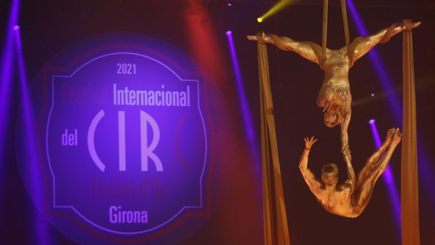 Així ha estat la presentació del Festival Internacional del Circ de Girona