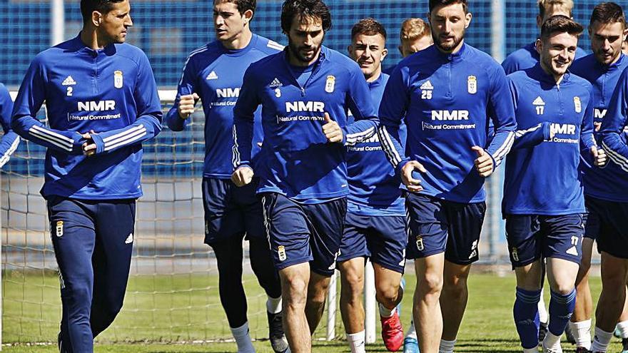 El Oviedo vuelve hoy a entrenarse pendiente del estado físico de la plantilla