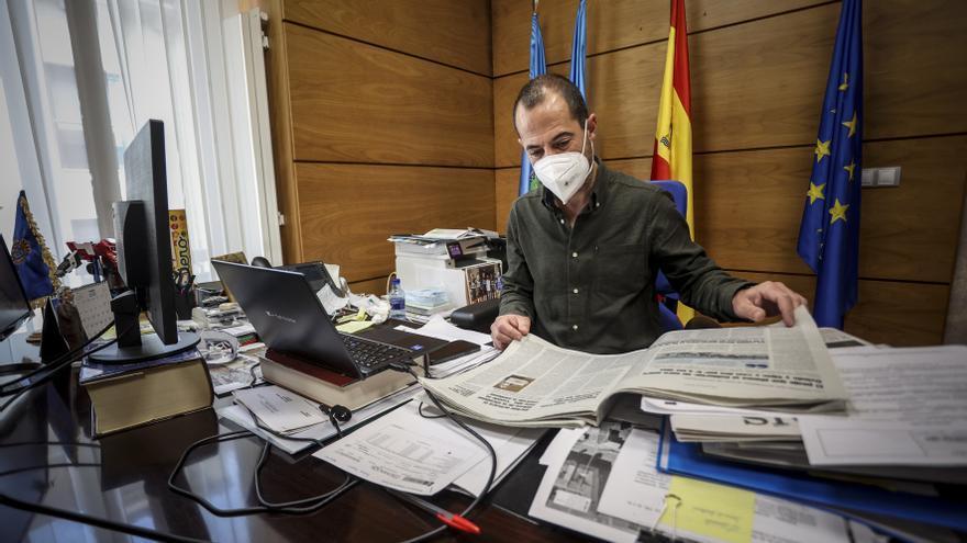 """Ángel García: """"Es muy difícil compaginar la política con la vida privada y eso que soy un alcalde de pueblo"""""""