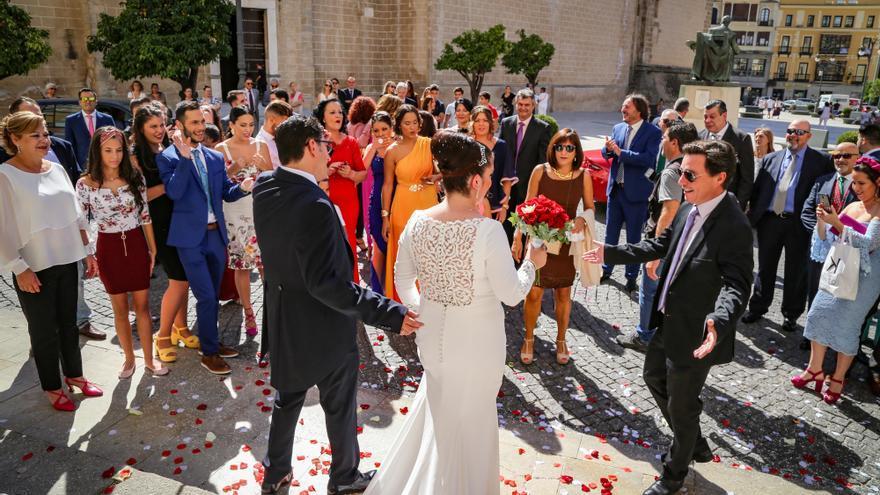 Gragera confía en que siga habiendo bodas los sábados en el Ayuntamiento de Badajoz
