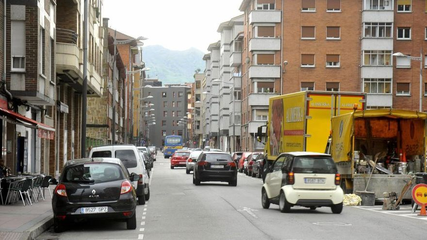 Detenido en Mieres por conducir con una tasa de alcohol seis veces por encima de la permitida