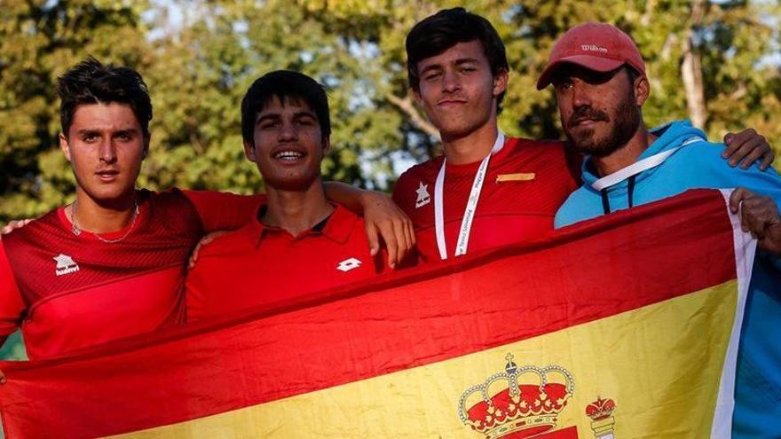 Carlos Alcaraz, a la final del Mundial sub-16
