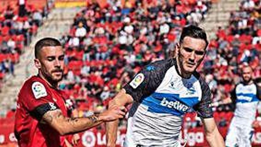 El Mallorca gana su primera 'final' por la permanencia