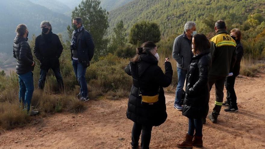 Convoquen una concentració a Aguilar contra els projectes dels parcs eòlics
