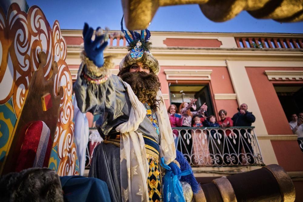 Cabalgata de los Reyes Magos en La Laguna.