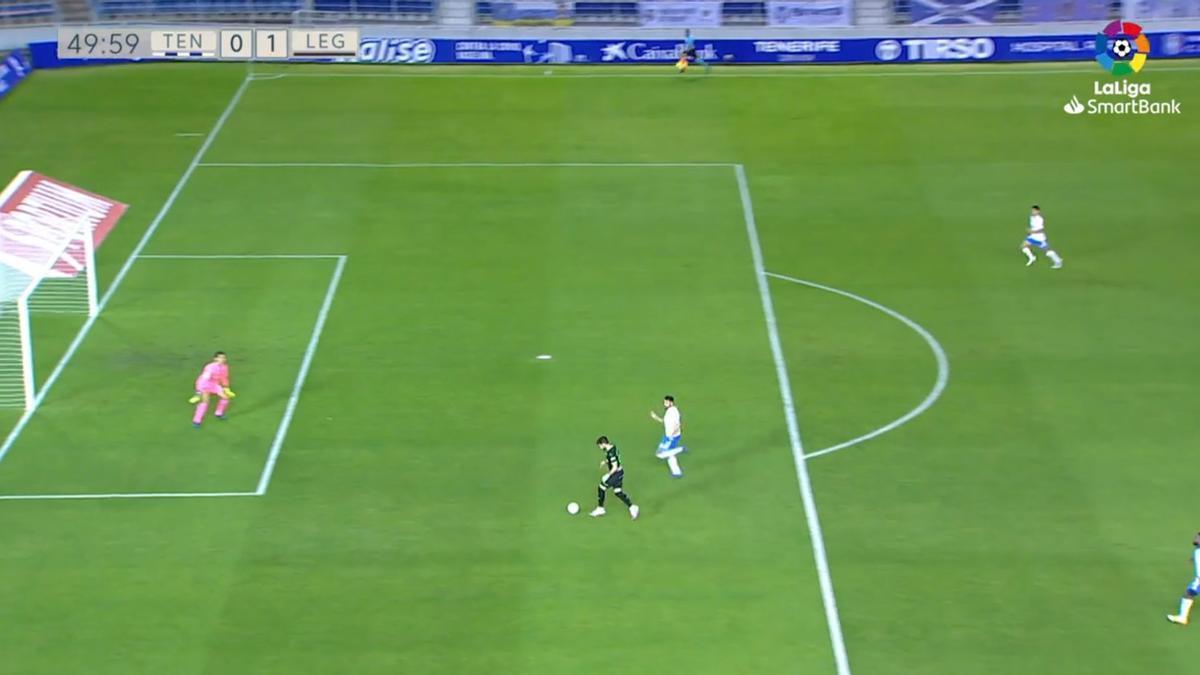 El VAR anula el gol del Leganés
