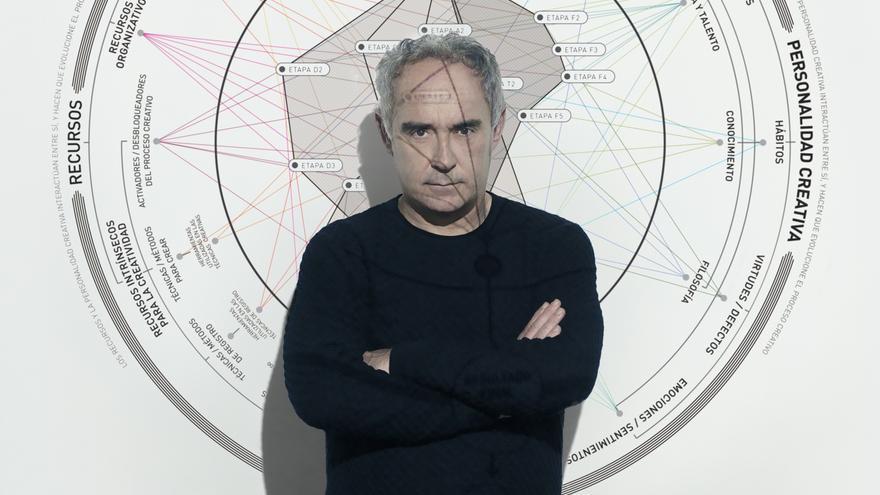 Ferran Adrià: 'La connexió és el millor ingredient'