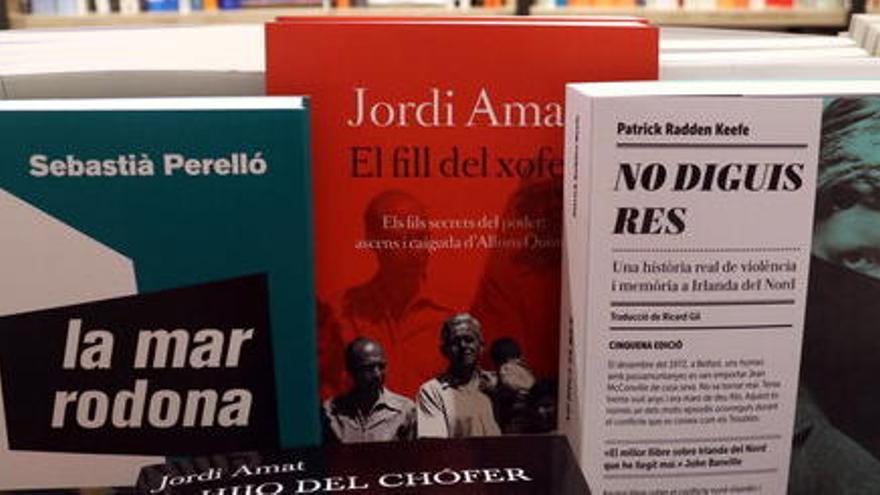 Els llibres de Francesc Serés, Paula Bonet i Jordi Amat, recomanacions dels periodistes culturals
