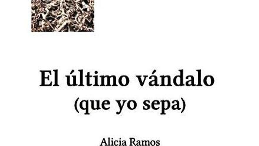 TEA acoge la presentación de 'El último vándalo (que yo sepa)', de Alicia Ramos
