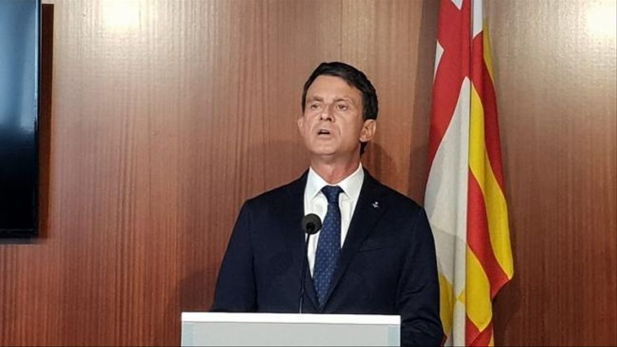 """Valls carga contra la estrategia """"sectaria"""" de Cs y su posición respecto a Vox"""