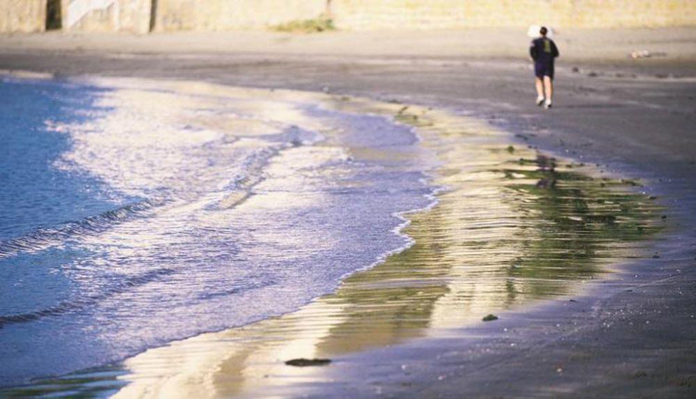 La playa de El Cristo, en Estepona
