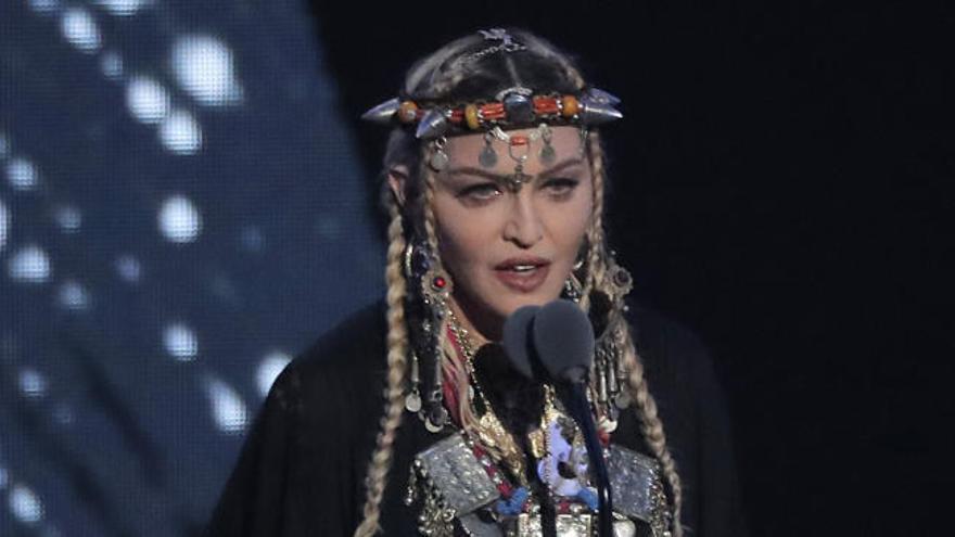 Madonna, criticada por su homenaje a Aretha Franklin