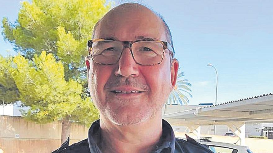 Se jubila el policía local de Marratxí Salvador Fernández