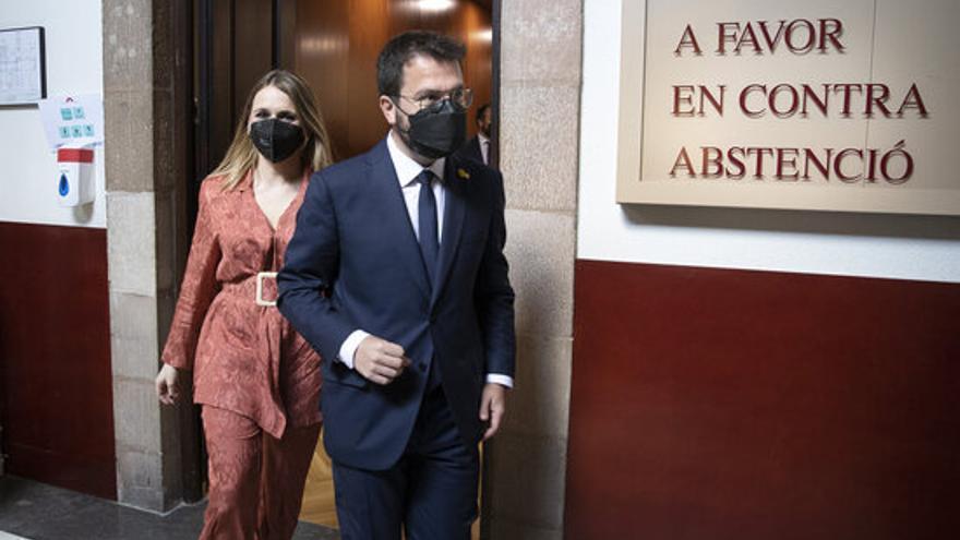 Aragonès vol reunir-se amb Sánchez i crear l'Acord per l'Amnistia i l'Autodeterminació
