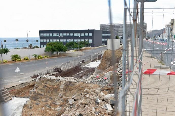 01-08-2018 LAS PALMAS DE GRAN CANARIA. Obras de ...