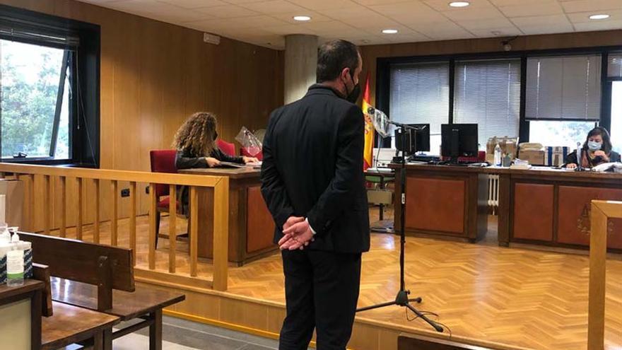 """El abogado vigués acusado de calumniar a un magistrado: """"No fue un calentón"""""""