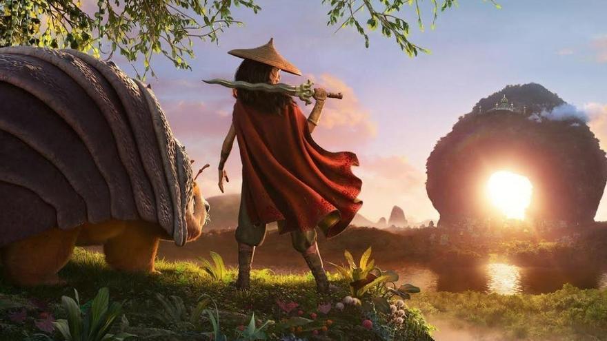 Disney revela la primera imagen de 'Raya y el último dragón', su nuevo clásico