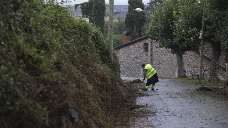 Avilés prepara el desbroce de 60 kilómetros de caminos rurales del municipio