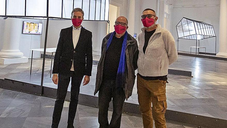 La Fundació Baleària exhibe los últimos trabajos del artista Josep Ginestar