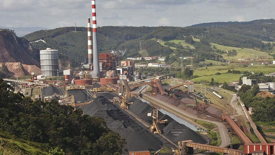 El grupo EDP plantea sustituir el carbón por gas natural en la térmica de Aboño