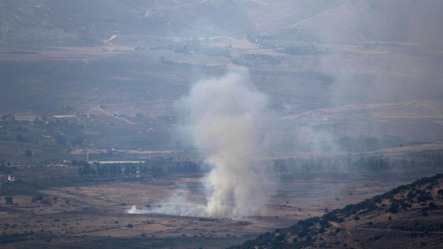 Israel ataca Líbano con artillería tras el lanzamiento de tres cohetes a su territorio