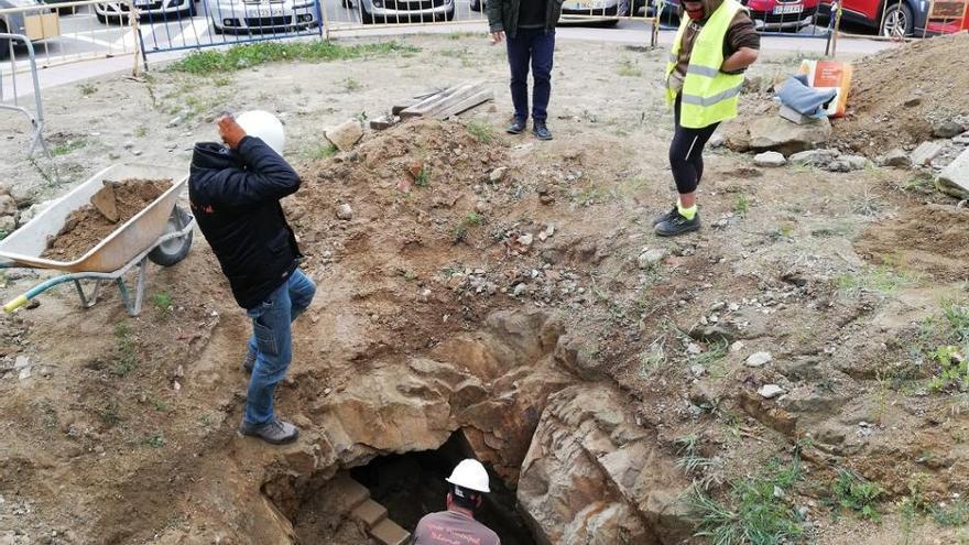Palamós troba un túnel que podria ser un refugi antiaeri