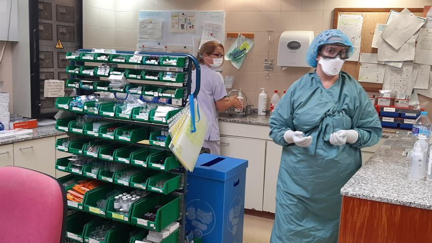 Lento aumento de ingresos por covid en los hospitales de Elche