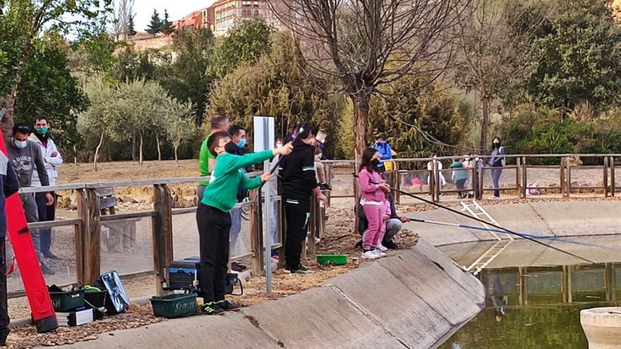 Benavente acoge el segundo curso infantil de pesca y educación medioambiental