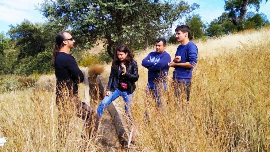Unidas por Extremadura, en contra de la mina de uranio en la sierra suroeste