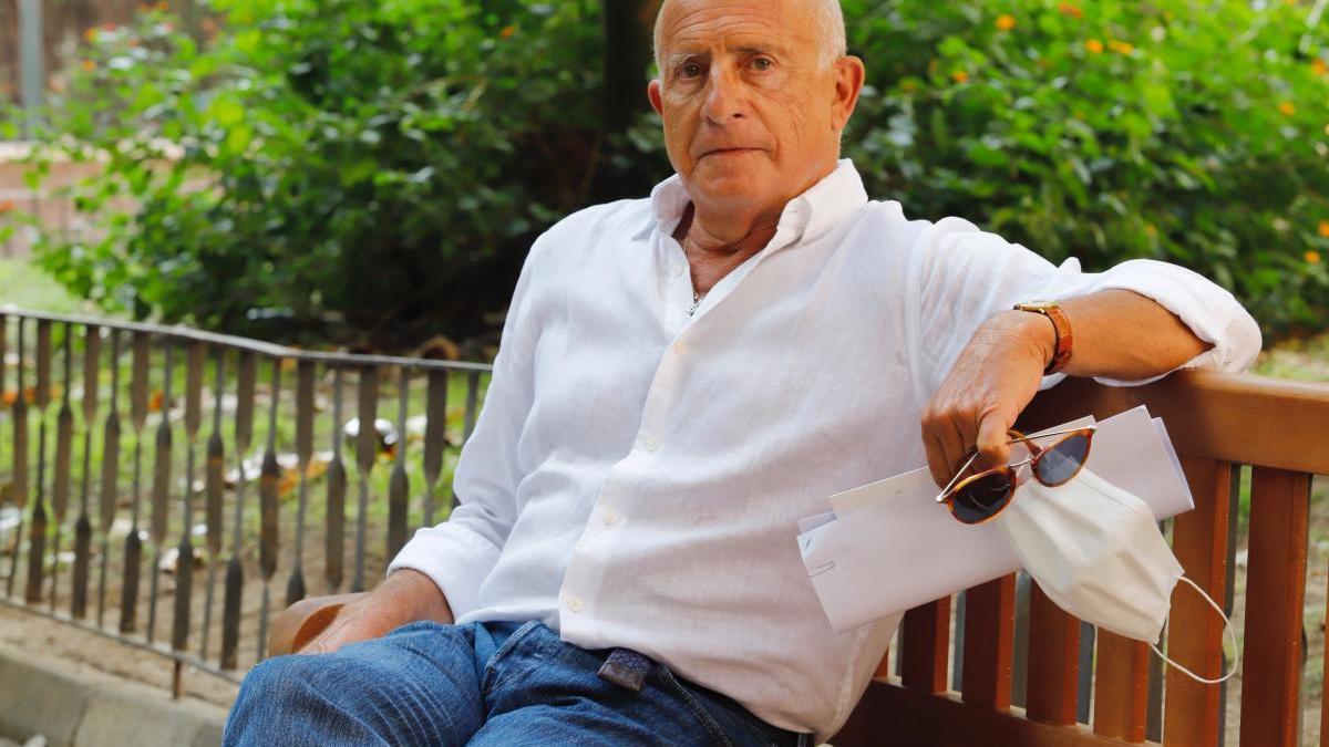 José Antonio Navarro, en Murcia.