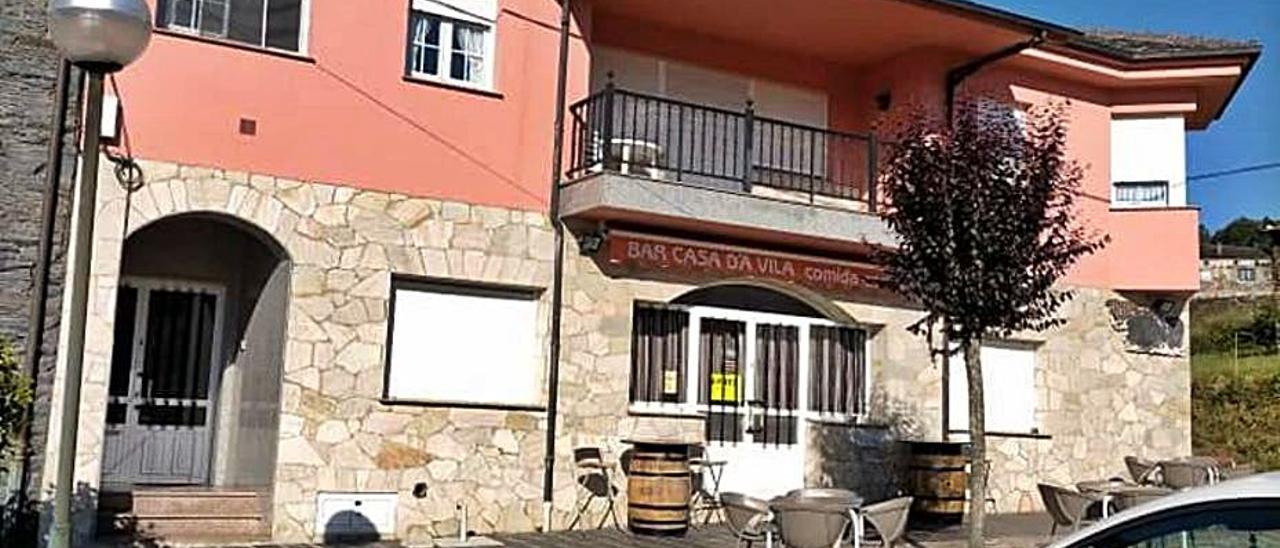 Aspecto exterior del bar, en pleno centro de San Martín.   Rep. de T. C.