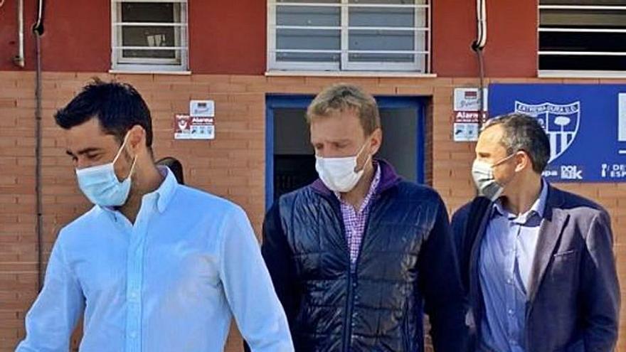 La plantilla del Extremadura irá a la huelga por los impagos