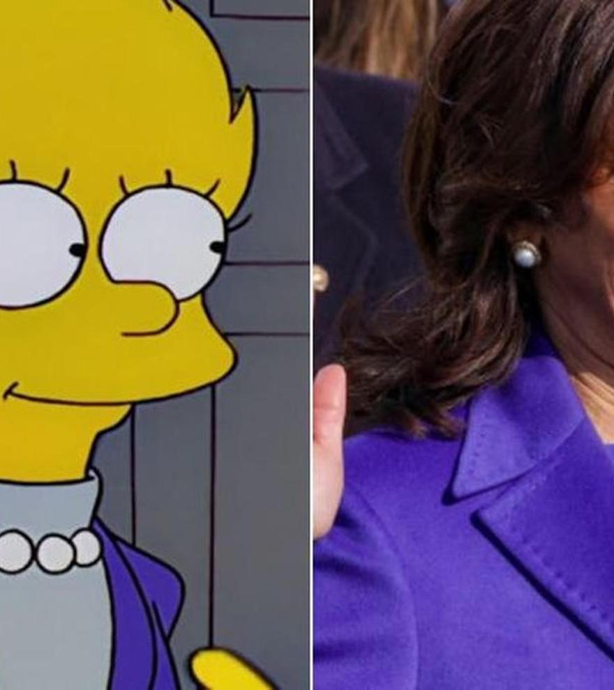 Otra predicción de 'Los Simpson': Kamala Harris y la presidenta Lisa