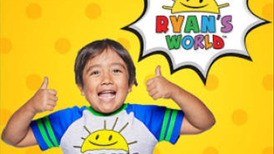 Ryan Kaji, de solo 9 años, vuelve a ser el youtuber mejor pagado