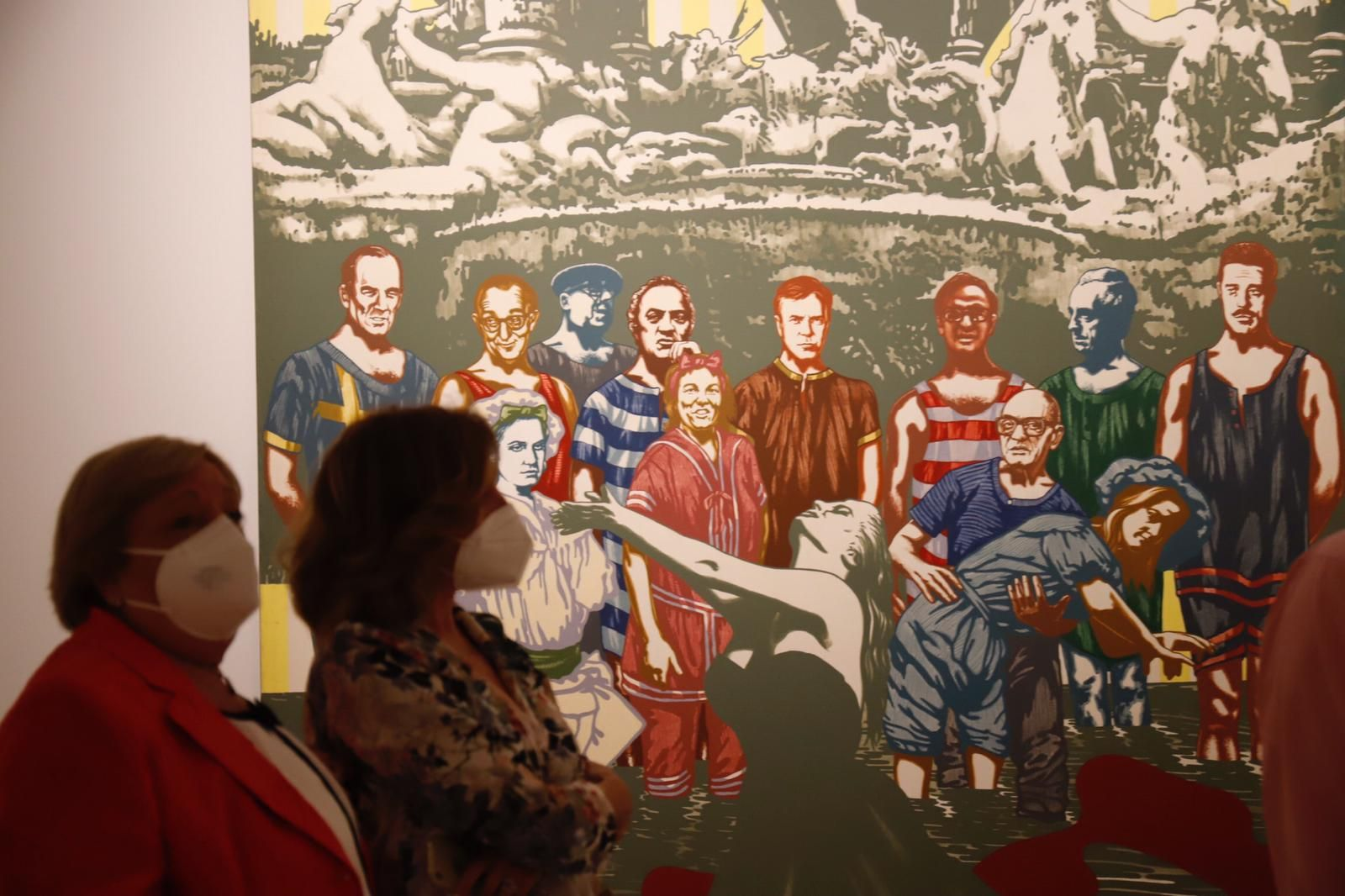 Inauguración de la sala de exposiciones temporales 'Eugenio Chicano' en el Museo de Málaga
