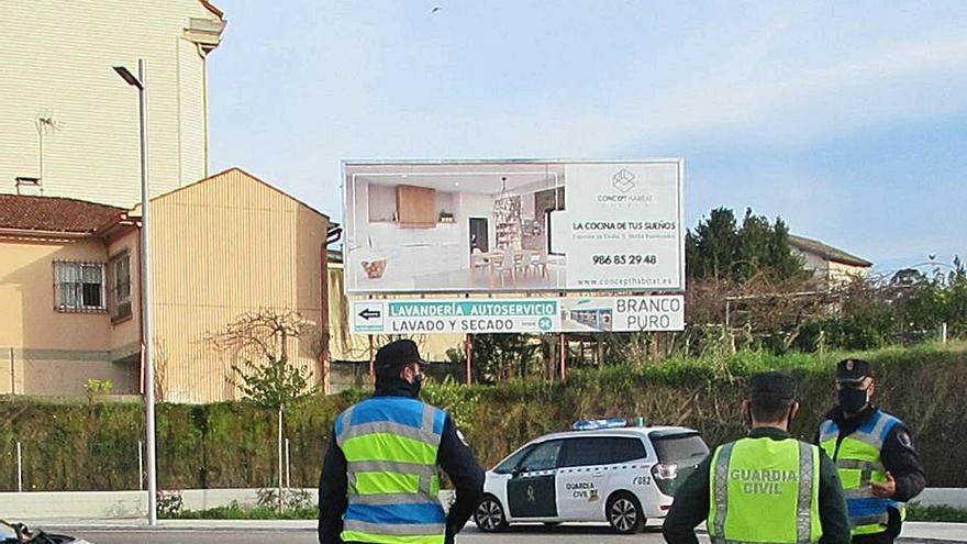 Detenidos dos individuos por un robo en una vivienda habitada de Portonovo