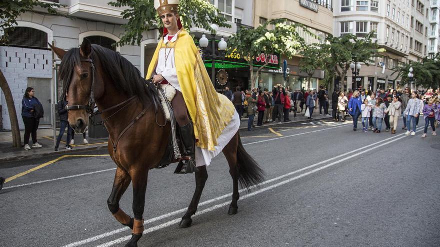 Alicante celebra el día de su patrón, San Nicolás