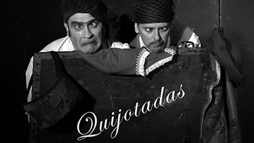 Las 'Quijotadas' de Cervantes llegan a la plaza de la Catedral de Zamora