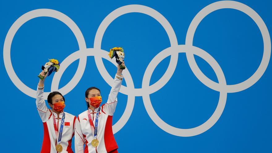 Tokio 2020: China y Japón terminan la primera semana por delante de EEUU en el medallero