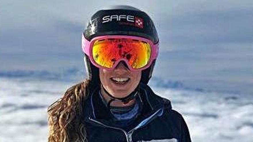 Núria Pau es classifica per al Mundial d'esquí alpí que es disputarà a Itàlia