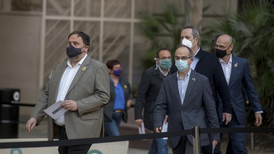 El juez avala un permiso a Junqueras, Turull y Romeva tras volver a la cárcel