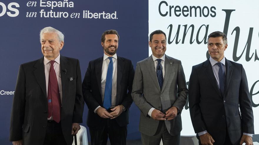"""Vargas Llosa se desmarca de Ciudadanos y promete el voto al PP: """"El partido liberal ha dejado de existir"""""""